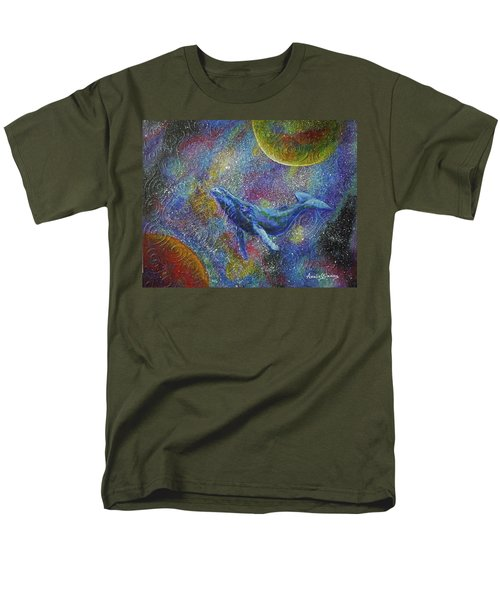 Pacific Whale In Space Men's T-Shirt  (Regular Fit)