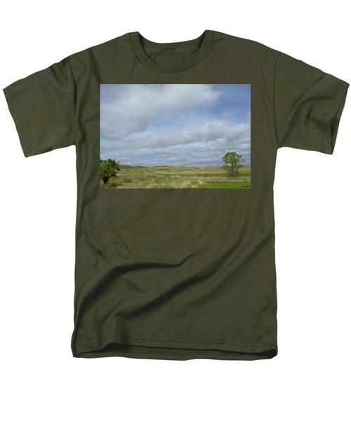 Painted Plains Men's T-Shirt  (Regular Fit) by JoAnn Lense
