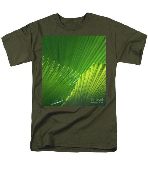 Palm Leaves Men's T-Shirt  (Regular Fit) by Atiketta Sangasaeng