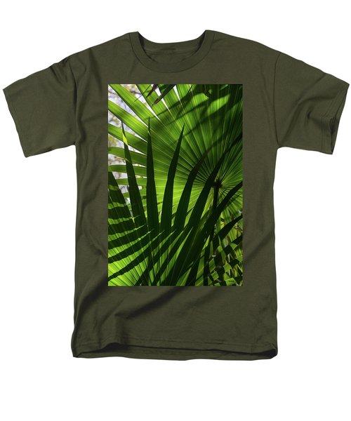 Palm Study 1 Men's T-Shirt  (Regular Fit) by Dana Sohr