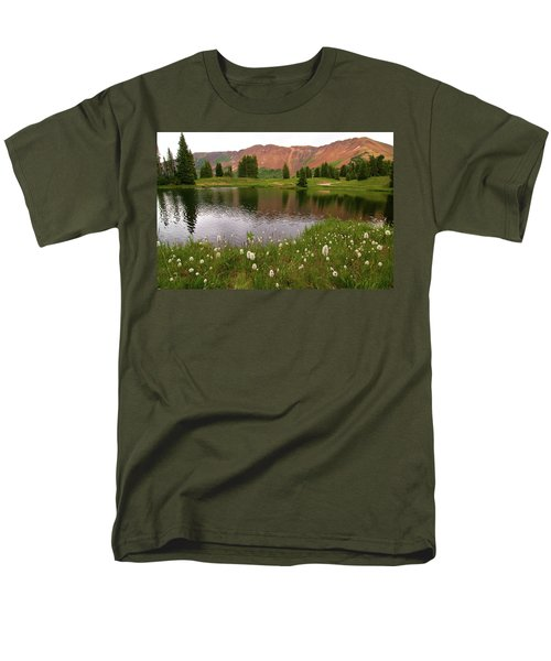Men's T-Shirt  (Regular Fit) featuring the photograph Paradise Basin by Steve Stuller
