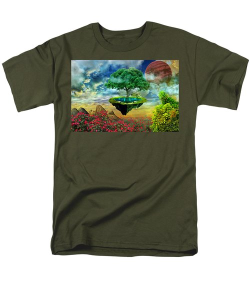 Paradise Island Men's T-Shirt  (Regular Fit) by Ally White