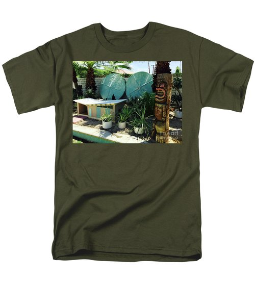 Party At The Doghouse Men's T-Shirt  (Regular Fit) by Beth Saffer