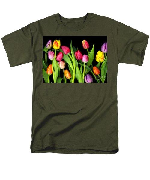 Tulips Men's T-Shirt  (Regular Fit) by Christian Slanec