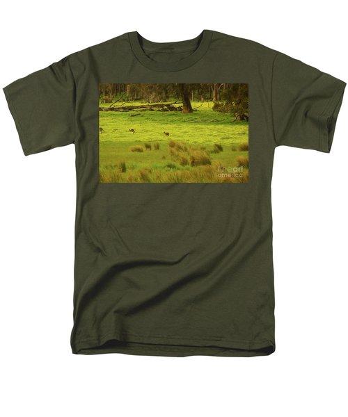 Pasture In Boranup Men's T-Shirt  (Regular Fit) by Cassandra Buckley
