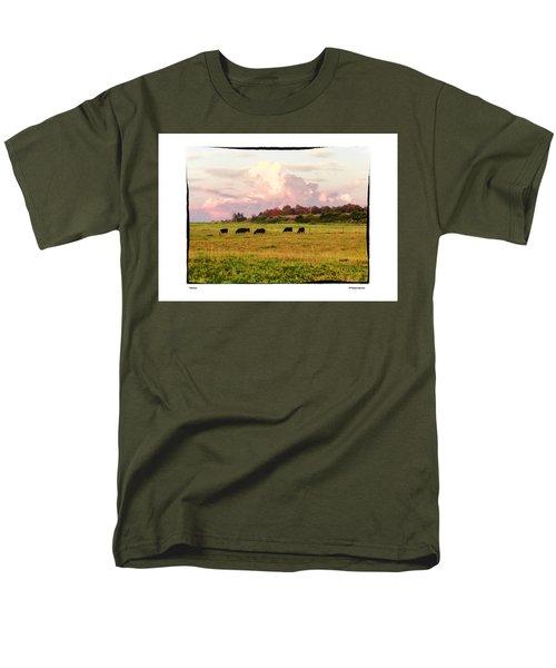Pasture Men's T-Shirt  (Regular Fit) by R Thomas Berner