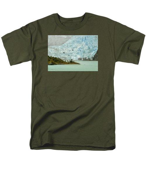 Patagonia Glacier Men's T-Shirt  (Regular Fit) by Alan Toepfer