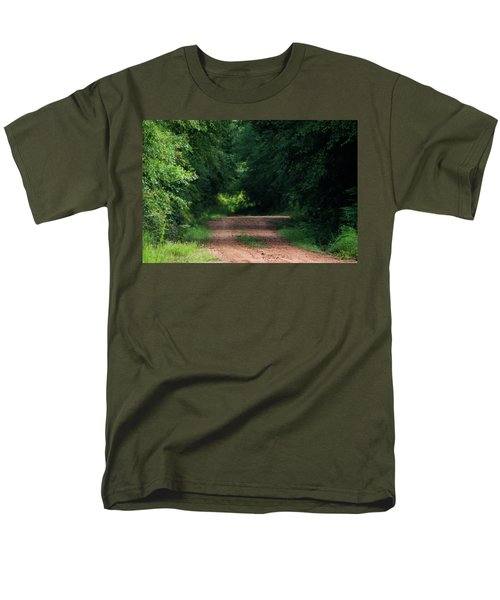 Men's T-Shirt  (Regular Fit) featuring the photograph Path Of Light Horizontal by Shelby Young