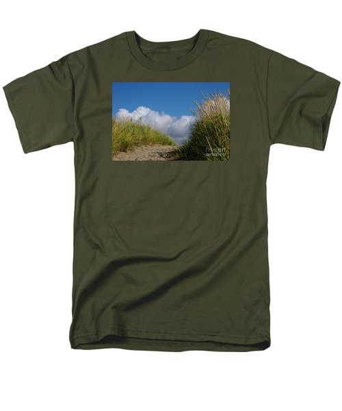 Men's T-Shirt  (Regular Fit) featuring the photograph Path To The Beach by Jeanette French