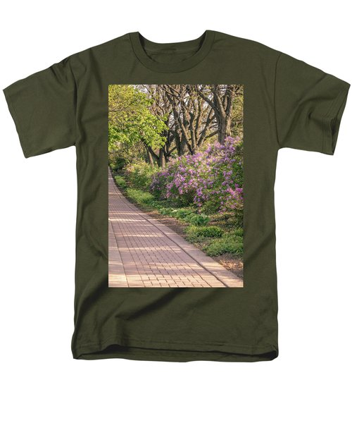 Pathway To Beauty In Lombard Men's T-Shirt  (Regular Fit)