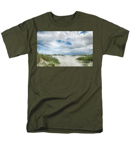 Pawleys Island  Men's T-Shirt  (Regular Fit) by Kathy Baccari