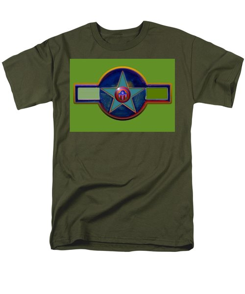 Men's T-Shirt  (Regular Fit) featuring the digital art Pax Americana Decal by Charles Stuart