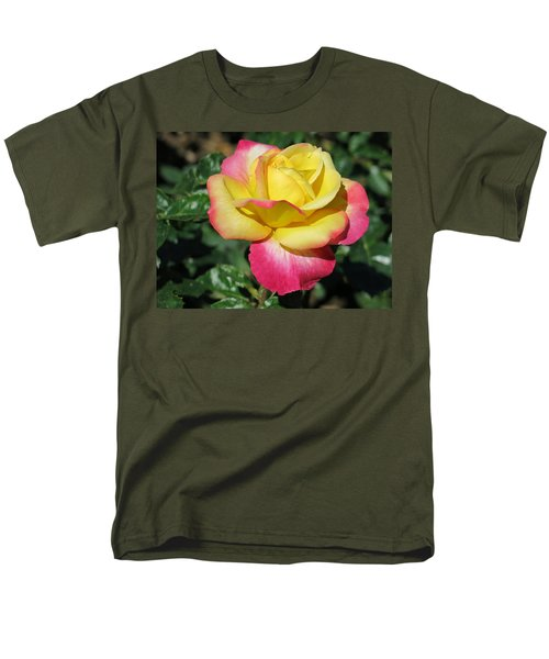Peace And Love Rose Men's T-Shirt  (Regular Fit) by Betty Buller Whitehead