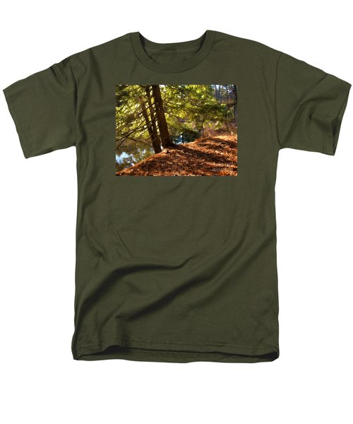 Peace On Earth Men's T-Shirt  (Regular Fit) by Betsy Zimmerli
