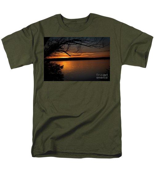 Men's T-Shirt  (Regular Fit) featuring the photograph Peaceful Nights by Deborah Klubertanz