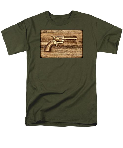 Peacemaker Men's T-Shirt  (Regular Fit) by American West Legend By Olivier Le Queinec