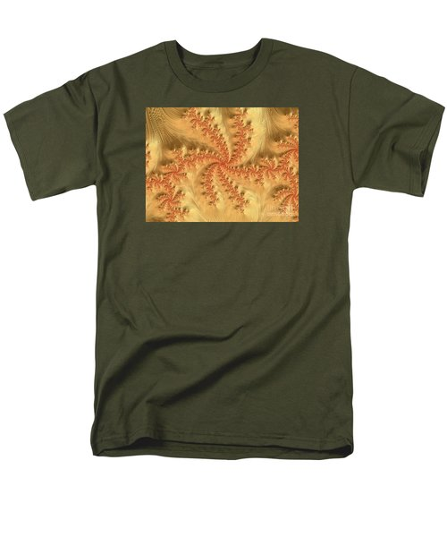 Men's T-Shirt  (Regular Fit) featuring the digital art Peaches And Cream by Elaine Teague