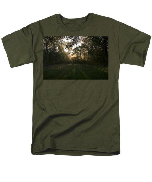 Peeking Through Men's T-Shirt  (Regular Fit) by Annette Berglund