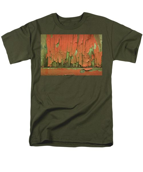 Men's T-Shirt  (Regular Fit) featuring the photograph Peeling 4 by Mike Eingle
