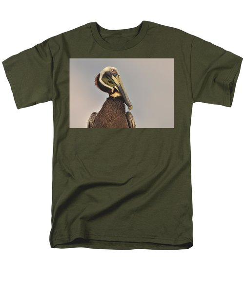 Pelican  Men's T-Shirt  (Regular Fit) by Nancy Landry