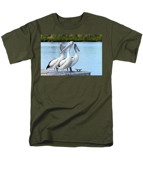 Pelicans 6663. Men's T-Shirt  (Regular Fit) by Kevin Chippindall