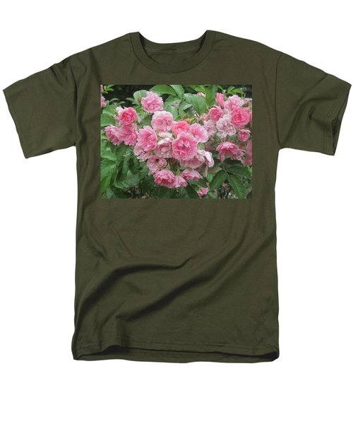 Peonies At Glen Magna Farms Men's T-Shirt  (Regular Fit) by Paul Meinerth