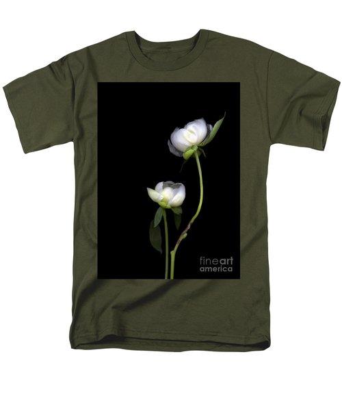 Peonies Men's T-Shirt  (Regular Fit) by Christian Slanec