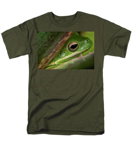 Frogy Eye Men's T-Shirt  (Regular Fit) by Denis Lemay