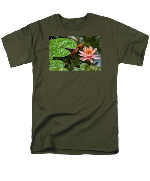 Perfect Beauty And Koi Companion Men's T-Shirt  (Regular Fit) by Diana Mary Sharpton