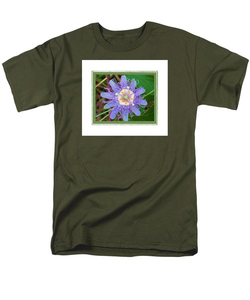 Perfect Passion Flower 2 Men's T-Shirt  (Regular Fit) by Shirley Moravec