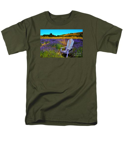 Men's T-Shirt  (Regular Fit) featuring the photograph Perfect Purple  by Tanya  Searcy
