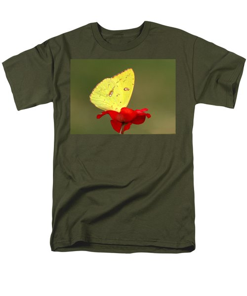 Petals And Wings Men's T-Shirt  (Regular Fit) by Sheila Brown