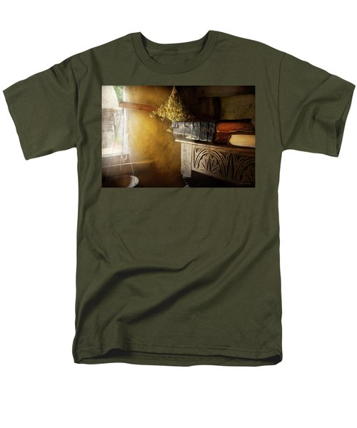 Men's T-Shirt  (Regular Fit) featuring the photograph Pharmacy - The Apothecarian by Mike Savad
