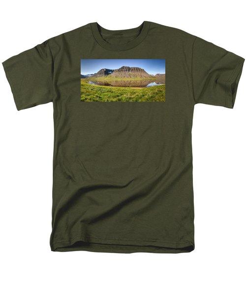 Picnic - Panorama Men's T-Shirt  (Regular Fit) by Brad Grove
