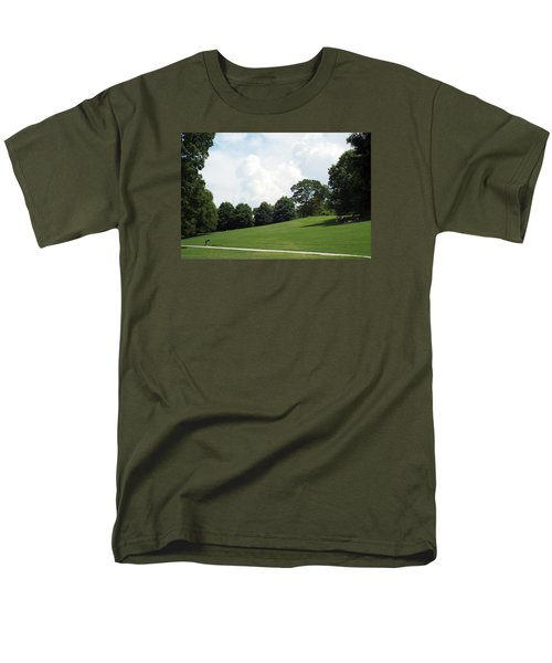 Men's T-Shirt  (Regular Fit) featuring the photograph Piedmont Park by Jake Hartz