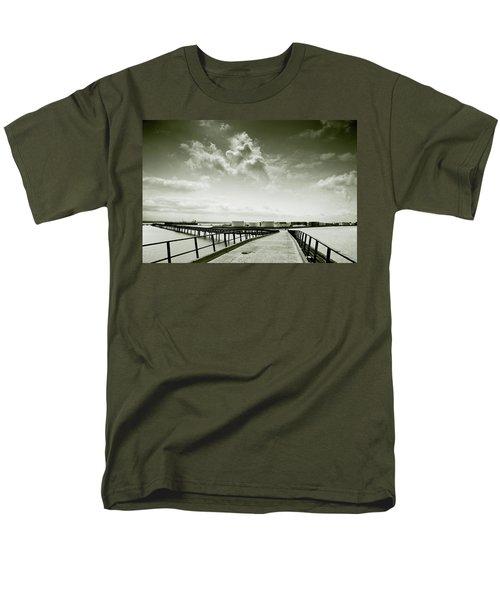 Pier-shaped Men's T-Shirt  (Regular Fit) by Joseph Westrupp