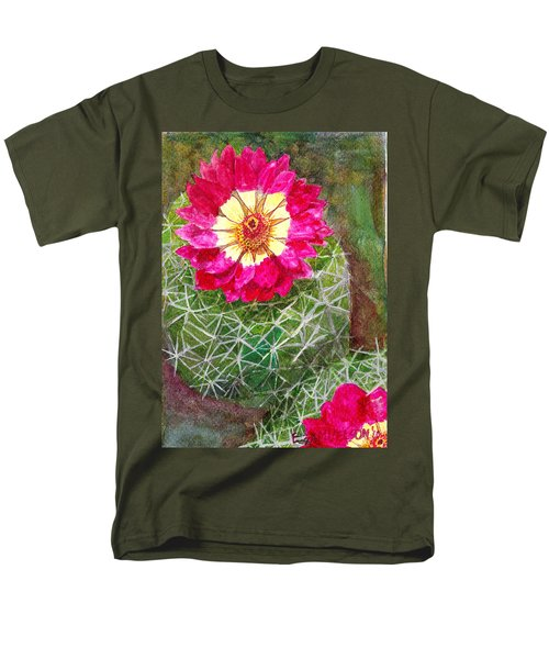 Pincushion Cactus Men's T-Shirt  (Regular Fit) by Eric Samuelson