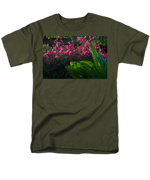 Pink And Green Men's T-Shirt  (Regular Fit) by Jim Walls PhotoArtist