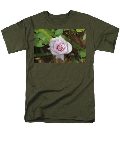 Pink Rose Men's T-Shirt  (Regular Fit) by Jerry Battle