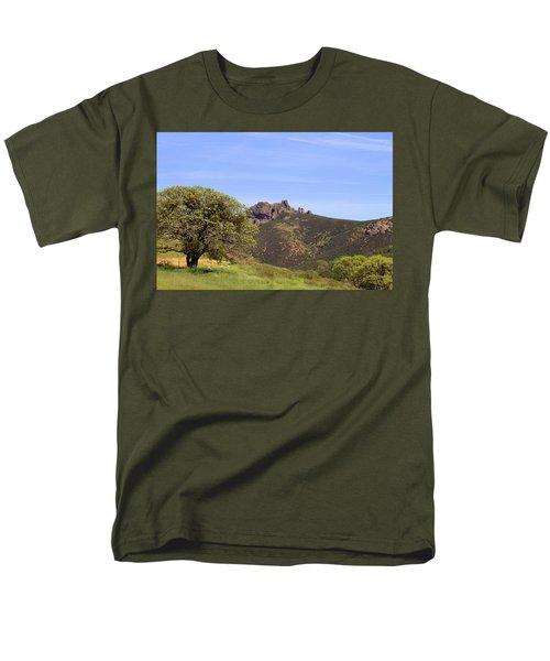 Men's T-Shirt  (Regular Fit) featuring the photograph Pinnacles Vista by Art Block Collections