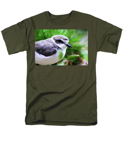 Men's T-Shirt  (Regular Fit) featuring the photograph Piping Plover by Anthony Jones