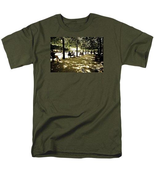 Place De Vosges Men's T-Shirt  (Regular Fit) by Perry Van Munster