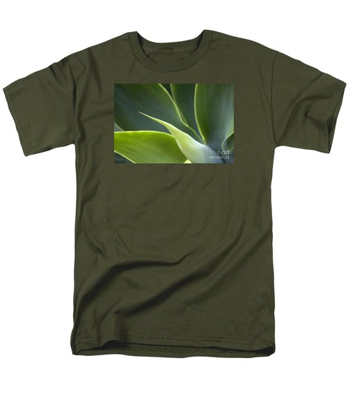 Plant Abstract Men's T-Shirt  (Regular Fit) by Tony Cordoza