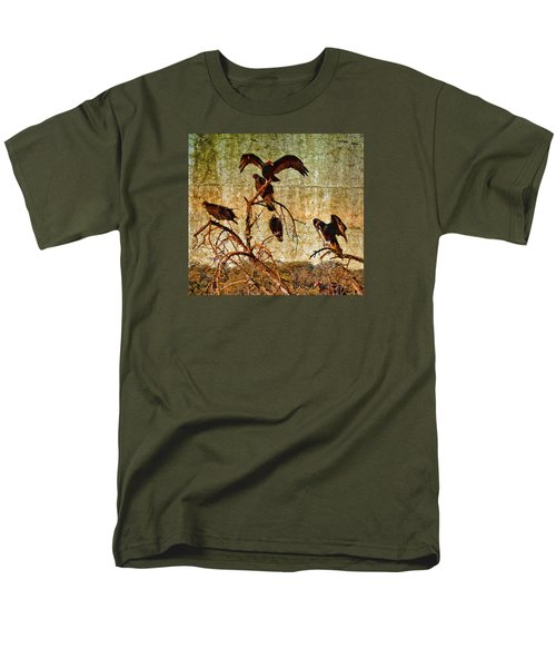 Pleasanton Vultures Men's T-Shirt  (Regular Fit) by Steve Siri