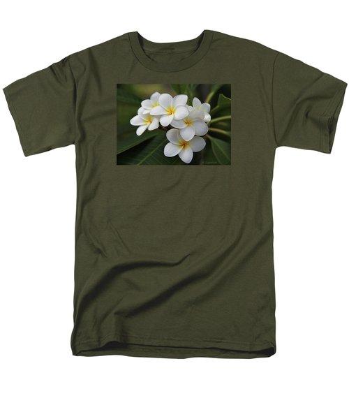 Plumeria - Golden Hearts Men's T-Shirt  (Regular Fit) by Kerri Ligatich