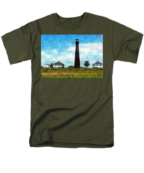 Point Bolivar Lighthouse 1872 Men's T-Shirt  (Regular Fit)