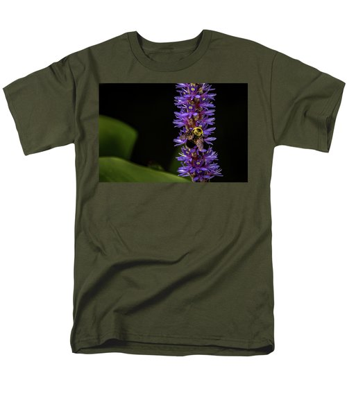 Men's T-Shirt  (Regular Fit) featuring the photograph Pollen Collector 3 by Jay Stockhaus