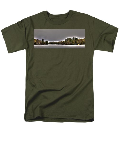 Pond Panorama Men's T-Shirt  (Regular Fit) by David Patterson