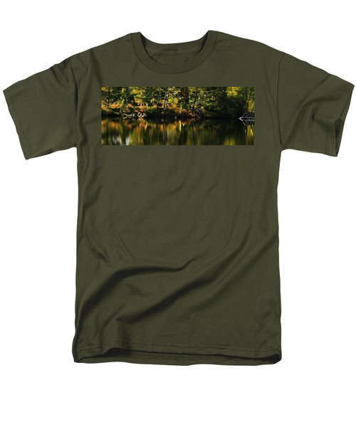 Men's T-Shirt  (Regular Fit) featuring the photograph Pond Reflections by Katie Wing Vigil
