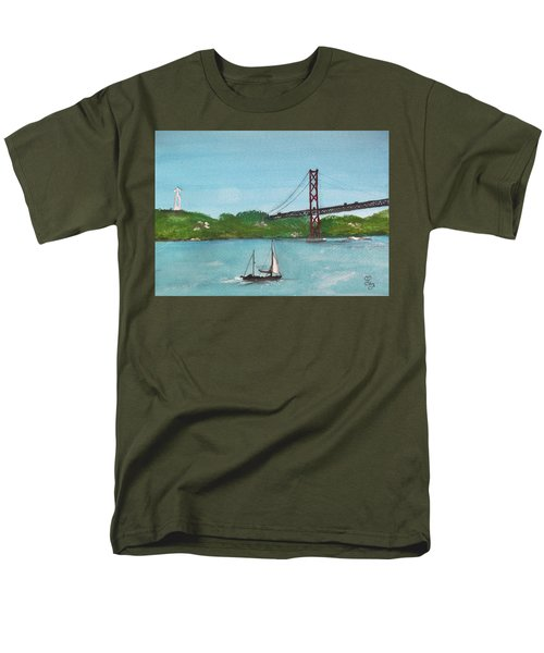 Ponte Vinte E Cinco De Abril Men's T-Shirt  (Regular Fit) by Carole Robins